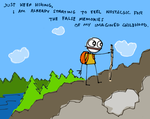 explodingdog:  Just keep hiking.  (Hey Sam, is that your review of Moonrise Kingdom or is there something else you are trying to communicate?)
