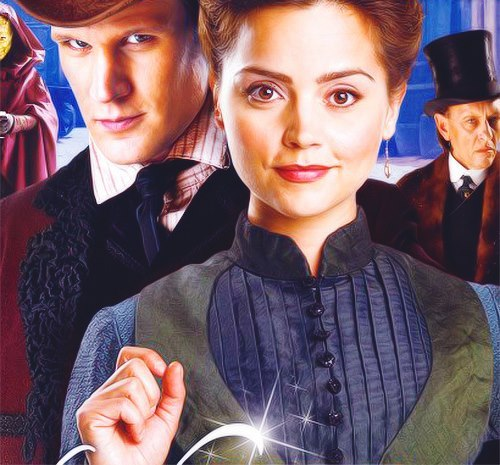 "Doctor Who : The Snowmen""The hour-long episode, set in Dickensian London, introduces a new-look Doctor (Matt Smith) to a young governess, played by Jenna-Louise Coleman who is caring for the young children of widower Captain Latimer, played by former Silent Witness star Tom Ward.All is not well at the Latimers' gothic house, however, where something nasty is lurking in the garden, apparently controlled by the sinister Doctor Simeon (Richard E. Grant) Reuniting with friendly Sontaran Strax (Dan Starkey), Silurian Vastra and her friend Jenny (Catrin Stewart), the Time Lord embarks on a dangerous mission that sees him confront a chilling new monster."