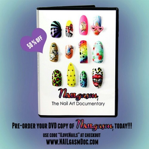 Reserve your copy today!!! Once they're gone they're gone! #nailgasmdocumentary  #nailart #nails #nailswag  #nailpolish  #nailsmagazine  #nailsdid  #nailartiscool  #naillove  #nailaddict