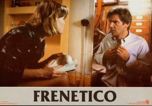 lobbycards:  Frantic, Spanish lobby card. 1988 Submitted by videorecord