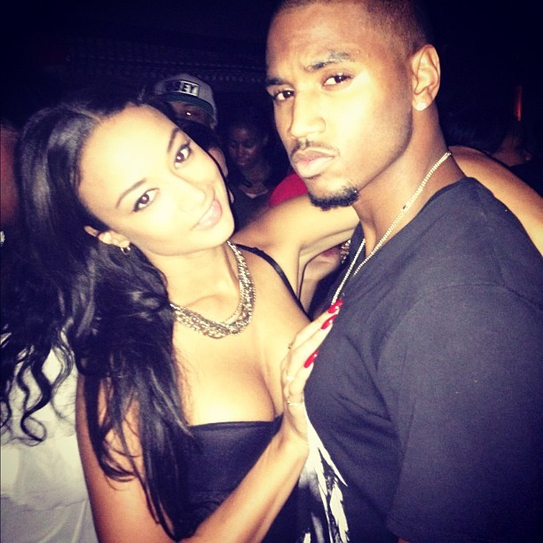 Basketball Wives LA's Draya helps Trigga celebrate his b-day.