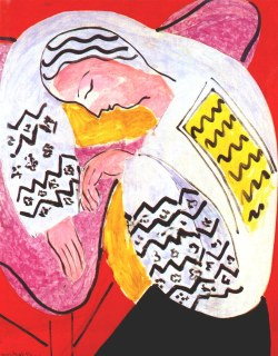 The Dream by Henri Matisse, 1940