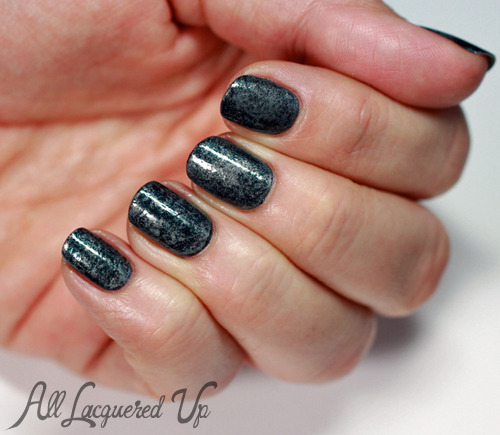 New on ALU - Midnight Marble Saran Wrap Manicure and a fun GIVEAWAY from the CVS Beauty Club.