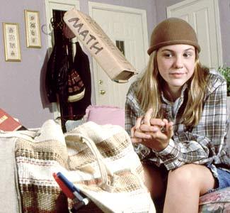 "thispopculture:  huffposttv:  Remember ""The Secret World of Alex Mack""? If you're a child of the 1990s, like me, of course you do. Here's something that will rock your world: Alex Mack still wears the hats. ""Um, do you know that I still have so many of those hats? And I wear them,"" series star Larisa Oleynik told me during a recent phone interview. (She referred to the hat at left as the ""condom cap."") I caught up with some of the cast and the show's co-creator to discuss what life was like being on one of Nickelodeon's top show, whether they'd do a reunion/remake a la ""Girl Meets World"" and got to the bottom of a cliffhanger that has plagued me since 1998: Did Alex Mack take the cure for her powers? Click here to read ""The Secret World Of Alex Mack"" retrospective. **Yes, this is the story I teased days ago**  A MUST-READ today.  Nonsense Fogwafty, I dunno if youve seen this yet, but you must!"