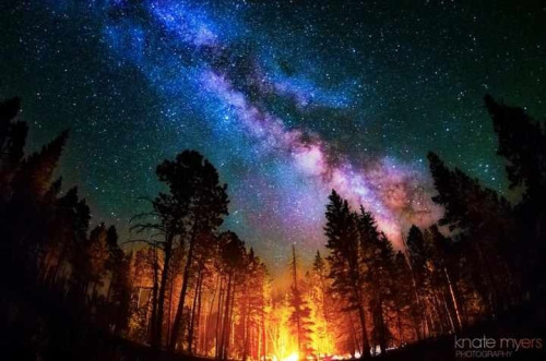 meetthemaster:  Milky Way. Jemez Mountains, NM. Knate Myers Photography.