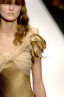 Detail shot of Rodarte