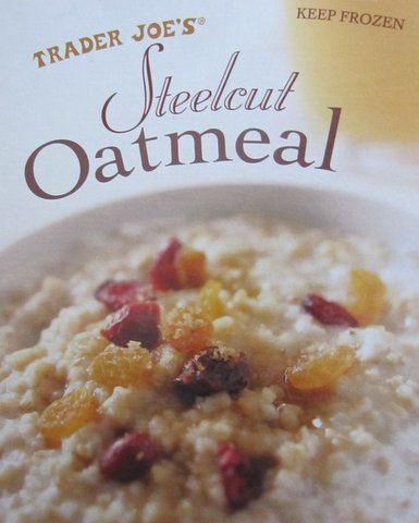 Trader Joe's Frozen Steelcut Oatmeal