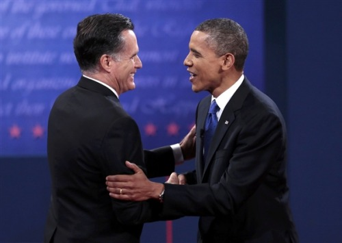 Obama, Romney to meet on Thursday President Obama and the man he defeated in the 2012 presidential contest — Republican Mitt Romney — will have lunch tomorrow at the White House, Obama's press secretary just announced. Read the complete story.