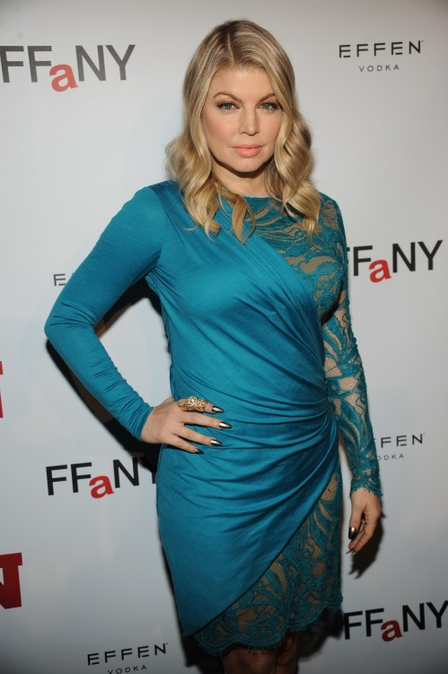 From the #FNAA red carpet: Fergie