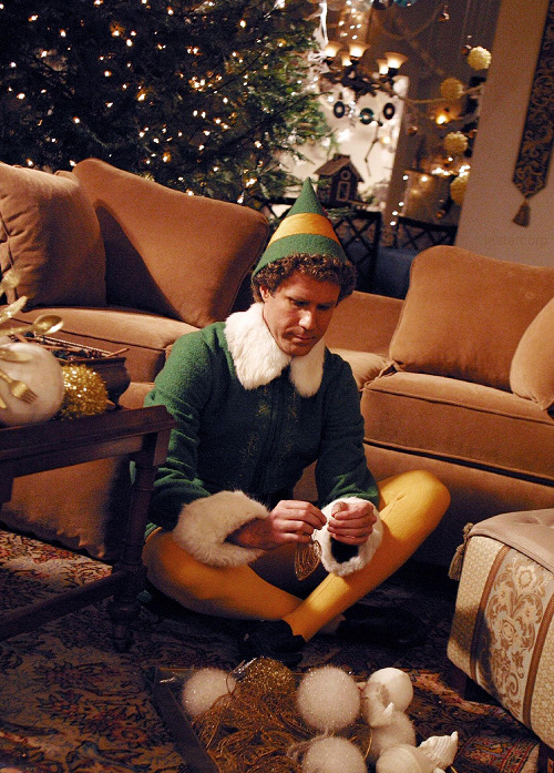 uncalmly:  halffwayythere:  tis' that season again  buddy the elf whats your favorite color?