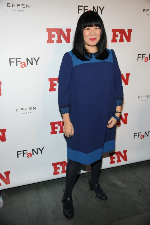 From the #FNAA red carpet: Anna Sui