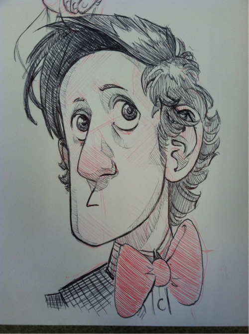 megan-draws-stuff:  There we are then. Matt Smith.
