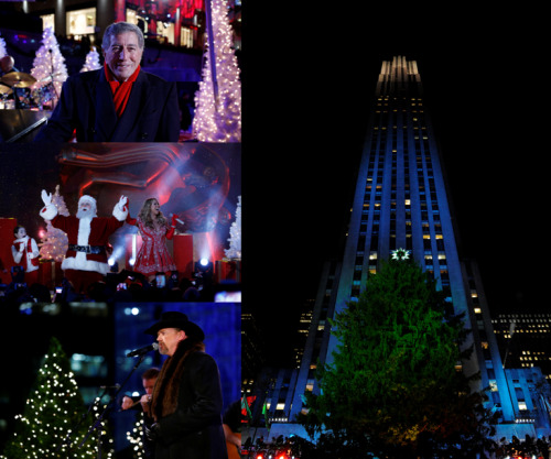 REBLOG if you're ready for Christmas in Rockefeller Center! We can't wait to light our favorite tree with you at 8/7c. Al Roker and Savannah Guthrie co-host tonight's star-studded festivities, which includes performances by Tony Bennett, Scotty McCreery, Trace Adkins, Mariah Carey, CeeLo Green, Victoria Justice, Chris Mann, Rod Stewart, Il Volo and the Radio City Rockettes!