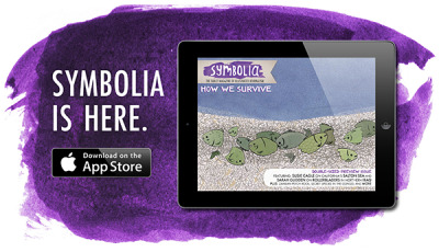 "symboliamag:  Symbolia has arrived. And we are so excited to share it with you. Symbolia mixes the best of comics art with thoughtful journalism from around the world. Here's how to get your mitts on our preview issue today: Own an iPad? Then get our flagship iPad app, featuring audio, animation, and interactive infographics. No tablet? No sweat! Symbolia also has a PDF edition that can be read on any device. Subscribe to the PDF version, or download our free preview issue. Help spread the word: Tweet about Symbolia, or share us on Facebook. The Details: Symbolia is a bi-monthly digital magazine dedicated to incendiary storytelling from around the world. We're merging longform journalism and sequential art to create an entirely new digital news experience. Subscriptions are $11.99 for 6 issues, and single issues will be available for $2.99 a pop. Our preview issue is free, and comes with any subscription. Symbolia's preview issue features incredible stories from around the globe, including: Susie Cagle's thoughtful exploration of California's Salton Sea. A look at life in Iraqi Kurdistan by Sarah Glidden. Kat Fajardo and Audrey Quinn on evolution and a fish called ""The White Man's Office"" in the Lower Congo River. The bold history of Zambian Psychadelic Rock, by Chris A. Smith and Damien Scogin. Andy Warner and Lauren Sommer tour the millions of microflora in our guts.  Coming soon! Ebook editions of our preview issue in the Amazon, Nook, and Google Play stores will be available shortly. We'll also be building apps for Android and Kindle tablets in the months to come. Sign up for our mailing list and be among the first to know when these products are available. We hope you enjoy the preview issue of Symbolia as much as we enjoyed making it!  With love, Erin Polgreen + Joyce Rice Co-Founders, Symbolia Magazine  Check it out, subscribe, etc.! I read my platform-independent PDF edition with pleasure and look forward to future issues. Good stuff."