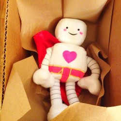 One of many Superbot dolls leaving today. Love the love! #bampop