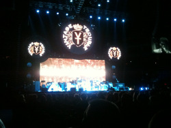 Vintage Trouble opening for The Who in Minneapolis last night.