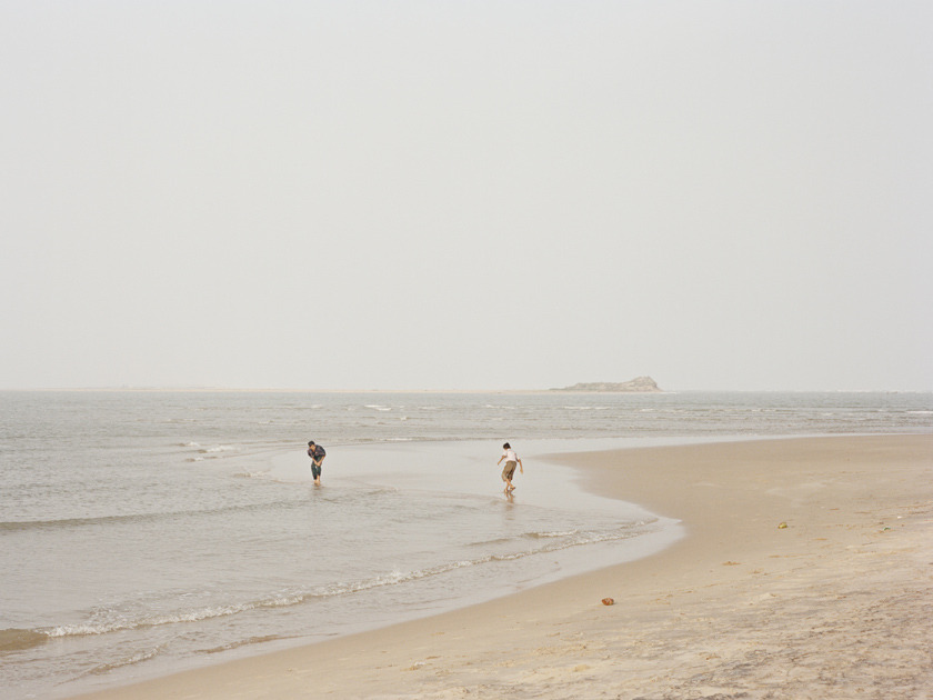 geordiewood:  Chilika Lake, India. 2012 (Sneak peak, someday I will finish this)