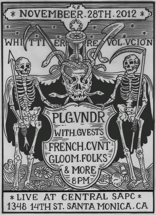 Plague Vendor tonight in Santa Monica.  Go check em out!