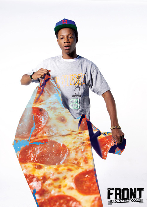 Joey Bada$$ in FRONT 176.
