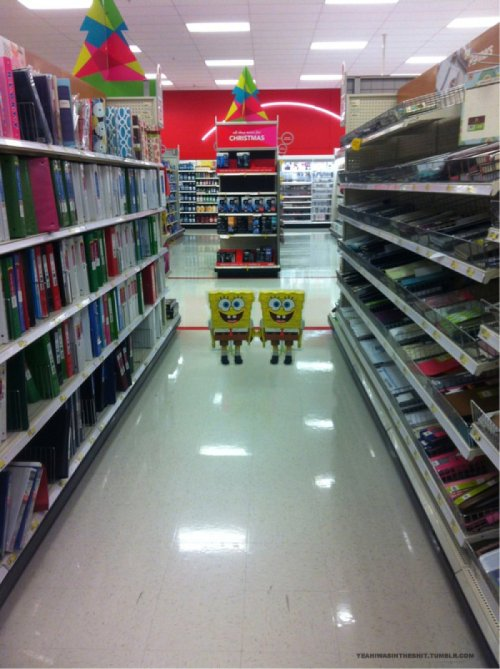 Spongebob's The Shining  Come play with us Patrick, forever and ever and ever.