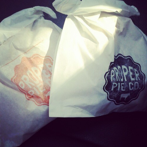 Stoked on today's lunch from @properpieco #rvadine