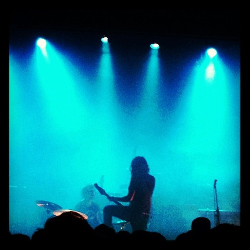 @jeffthebrotherhood at Irving plaza last night. Such a cool show.  (at Irving Plaza)