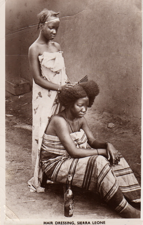 Hair Dressing, Sierra Leone
