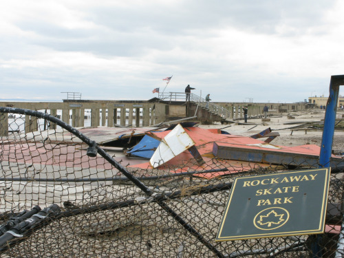 newyorkcityskateparks:  Rest in Pieces Rockaway Boardwalk skatepark  #Sandy #NYC #Queens #Rockaway #park #skate #skateboard #skateboarding #skatepark #skatesomething