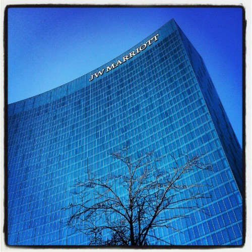 JW Marriott in downtown #Indy