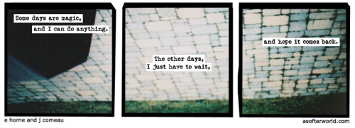 softerworld:  A Softer World: 901 (Waiting for time to run out.) buy this print