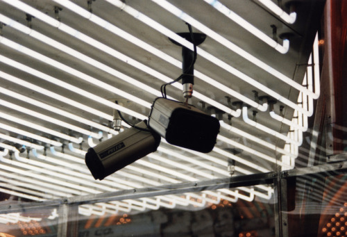 Surveillance in Las Vegas, 1992.