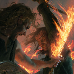Beric Dondarrion vs Sandor Clegane