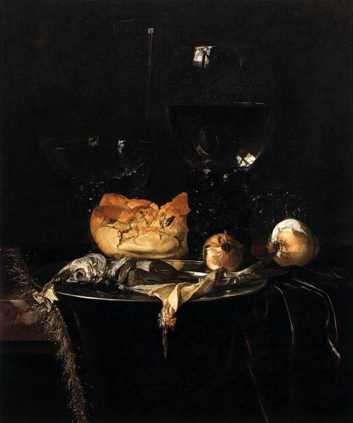 Willem van AELST (1626-1683) Breakfast Piece 1671 Oil on canvas, 49 x 41 cm Akademie der bildenden Kьnste, Vienna