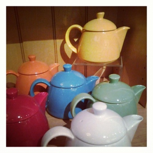 Our new acorn teapots make the perfect holiday presents! Stop into Pekoe Sip House today and pick yours up!