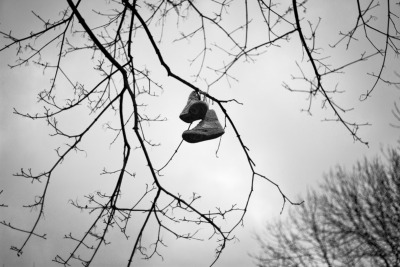 stephanmoutphotography:   Hanging Sneakers © Stephan Mout