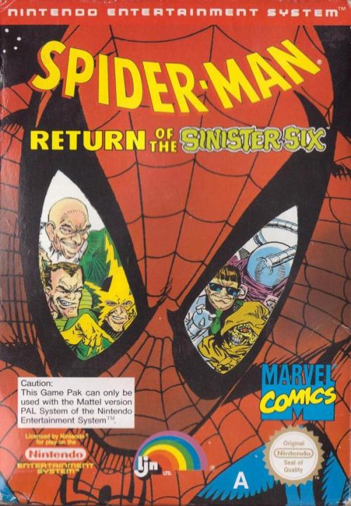 Spider-Man: Return of the Sinister Six, NES.
