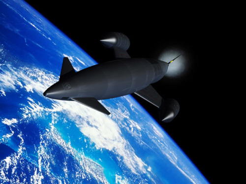 nationalpost:  Anywhere on Earth in four hours? Top-secret Skylon space plane could replace jets and rockets, company claimsA small British company with a dream of building a re-usable space plane has won an important endorsement from the European Space Agency (ESA) after completing key tests on its novel engine technology.Reaction Engines Ltd believes its Sabre engine, which would operate like a jet engine in the atmosphere and a rocket in space, could displace rockets for space access and transform air travel by bringing any destination on Earth to no more than four hours away. (Wikimedia)  I want this.
