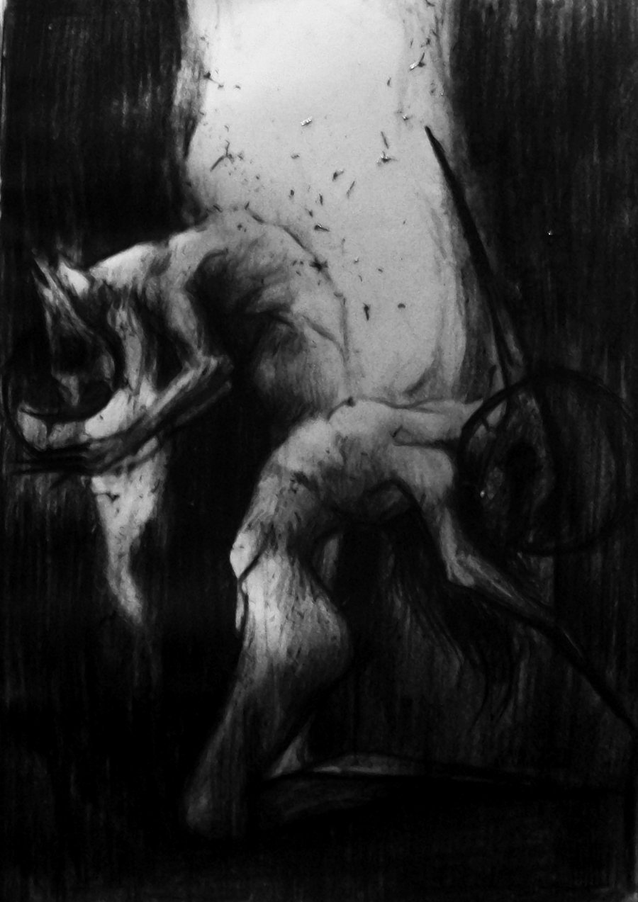 Myiu14 aka Kate (Poland) - Gates Of Hell, 2012 Traditional Arts: Drawings