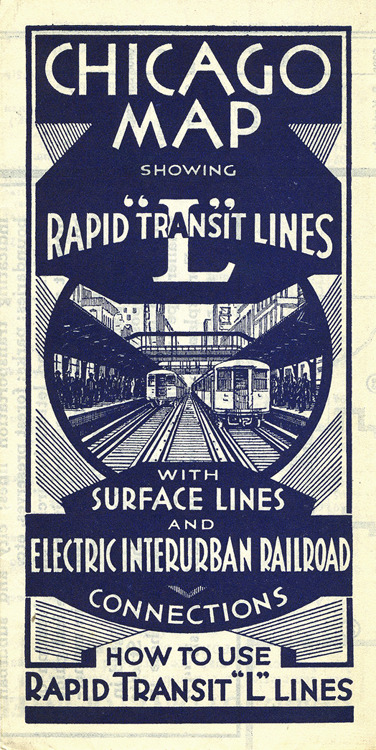 "Keeping Everyone in the Loop: 50 Years of Chicago ""L"" Graphics via Print Magazine"