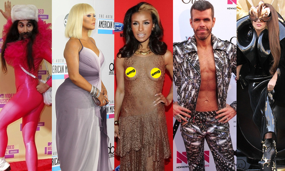 We ranked the 45 Most WTF Red Carpet Looks of 2012 for your personal enjoyment.