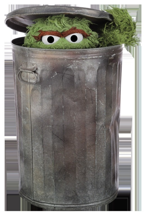 Oscar the Grouch, truly a pioneer in the field of trolling