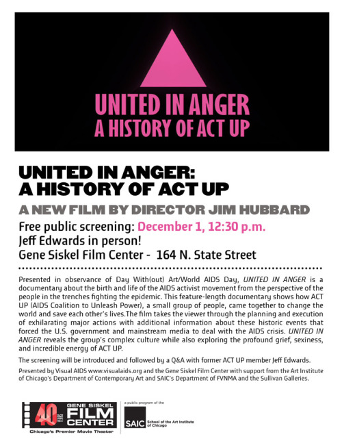 United In Anger: A History of Act Up, 12/1