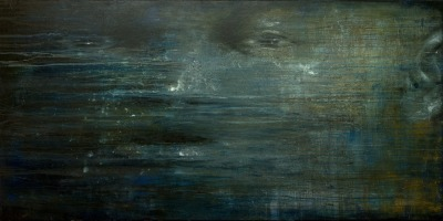 Expanse acrylic on canvas 4' x 8' Ysobel Art Gallery SOLD