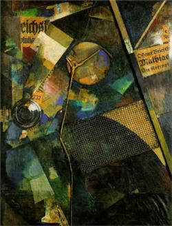 Merz Picture 25A: The Star Picture, Kurt Schwitters.