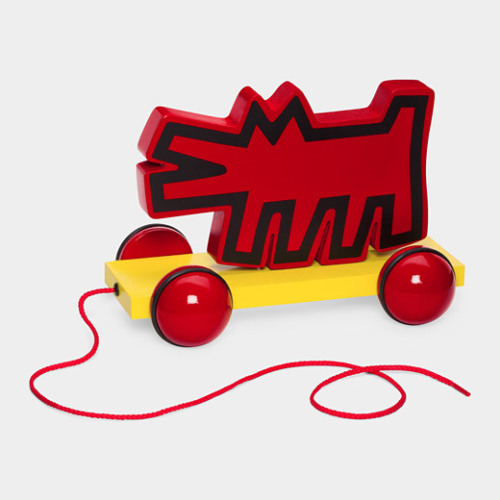 Wolf Pull Toy (via MoMA Store, based on Keith Haring image c. 1988)