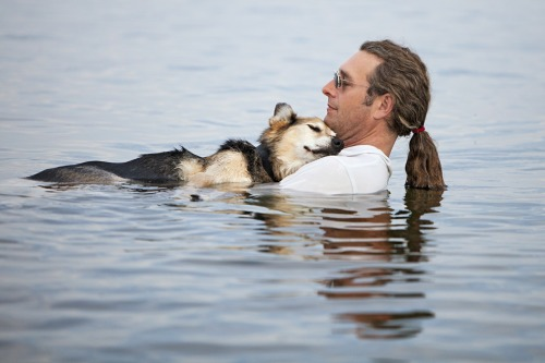 A dip in Lake Superior helps soothe 19-year-old Shoep's arthritic legs, so his owner, John Unger of Bayfield, Wisconsin, indulges him whenever he can. This photo has been clicked on millions of times since it was posted over the summer, and for good reason—it captures unconditional love as well as anything we've seen in a while. 53 more moments of grace at rd.com/miracles »