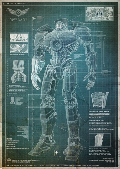 Badass Digest: This Is What PACIFIC RIM's Jaegers Look Like