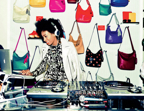 vogue:  Solange Knowles in Diane von FurstenbergPhoto: Diana Eliazov/BFANYC.comSee a slideshow of her best looks of the year