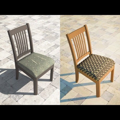 Redo Your Dining Room Chairs! http://www.wikihow.com/Reupholster-a-Dining-Chair-Seat
