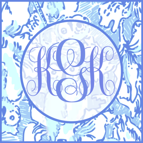 if kappa were a monogram…